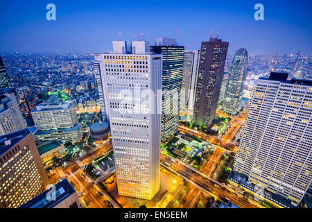 Tokyo, Japan shinjuku cityscape. - Stock Photo