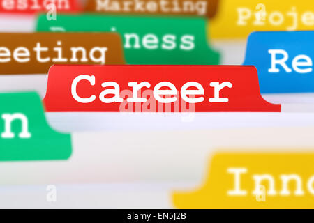 Success career opportunities and development business concept - Stock Photo