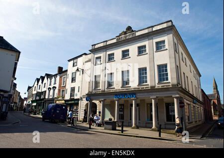 Barclays Bank on high street in town of Leominster Herefordshire England UK - Stock Photo