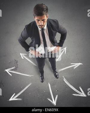 Different future opportunities - Stock Photo