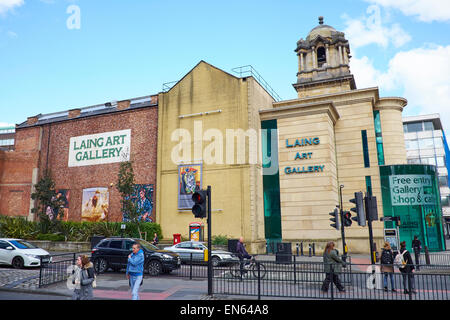 Laing Art Gallery New Bridge Street Newcastle Upon Tyne UK - Stock Photo