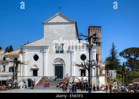Ravello, cathedral, Amalfi Coast, Campania, Italy - Stock Photo