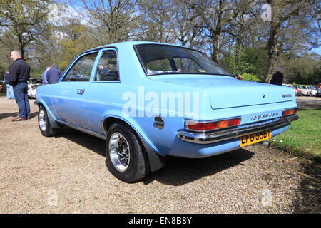 Vauxhall Viva HC at a classic car show, County Armagh, Northern Ireland - Stock Photo