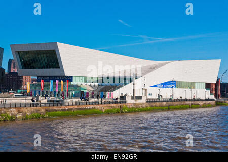 The Museum of Liverpool opened at Liverpool's Pier Head  World Heritage site in 2011 - Stock Photo