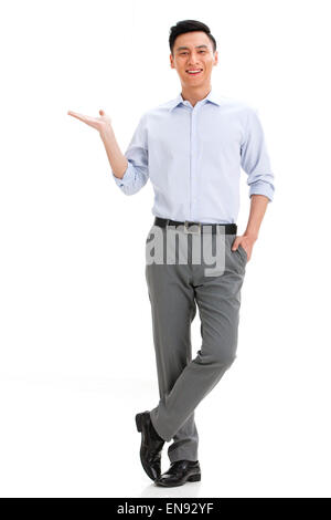 Portrait of young guy - Stock Photo