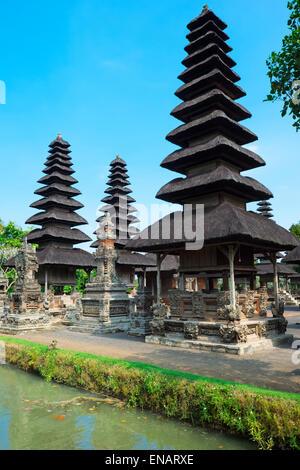 Pura Taman Ayun Temple, Meru (Pagoda like), Mengwi, Bali, Indonesia - Stock Photo