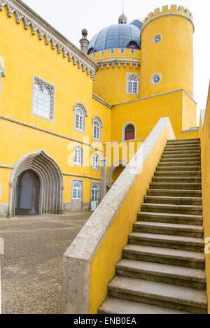 Pena National Palace, Sintra, Portugal - Stock Photo