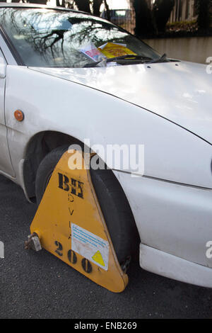 Is Car Clamping Illegal In Uk
