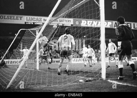Stoke City v Arsenal, FA Cup semi final replay, Wednesday 31st March 1971. Final score: Stoke City 0-2 Arsenal, - Stock Photo
