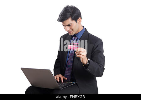 1 indian business man laptop credit card shopping stock photo businessman shopping online 1 indian business man laptop credit card shopping stock photo reheart Images