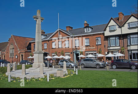Marlow, Memorial Buckinghamshire, - Stock Photo