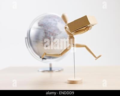 global logistics concept - Stock Photo