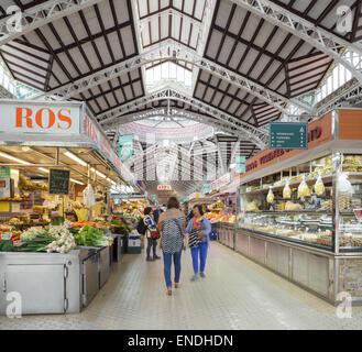 Central Market (Mercado Central), Valencia Stock Photo, Royalty Free Image: 5...