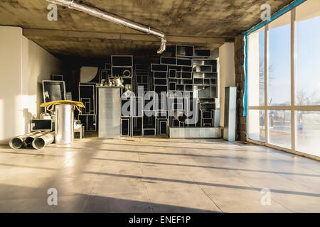 Interior room under construction Stock Photo, Royalty Free ...