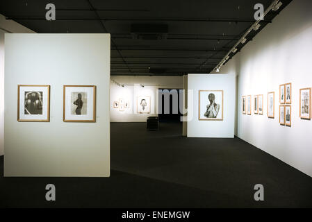 Rome,  photographic exhibition in the auditorium of the Parco Della musica Stock Photo