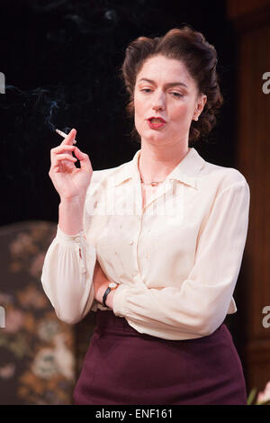 Anna Chancellor as Millie Crocker-Harris. Actors Anna Chancellor and  Nicholas Farrell star in a double bill - South - Stock Photo
