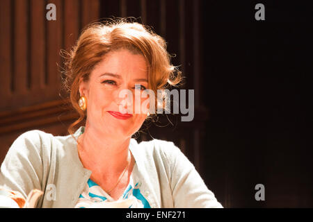 Anna Chancellor as Belinda Duffield. Actors Anna Chancellor and  Nicholas Farrell star in a double bill - South - Stock Photo