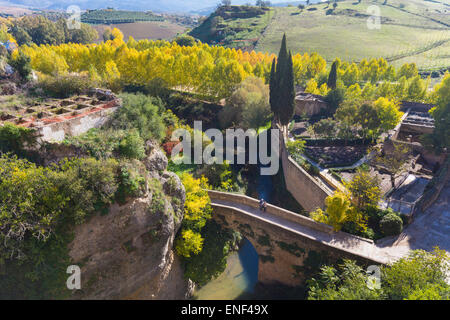 Arab baths RONDA Malaga province Andalusia region Spain Stock Photo, Royalty ...