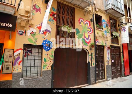 Neo Cultural Restaurant  in the Lonja of Palma de Mallorca - Stock Photo
