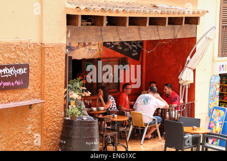 Escape Bar in the Lonja of Palma de Mallorca - Stock Photo