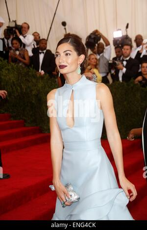 New York, USA . 4th May, 2015. Model Lily Aldridge attends the 2015 Costume Institute Gala Benefit celebrating the - Stock Photo