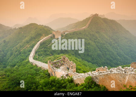 Great Wall of China. - Stock Photo