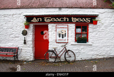 Traditional Irish Music Pub in Clonakilty - Stock Photo