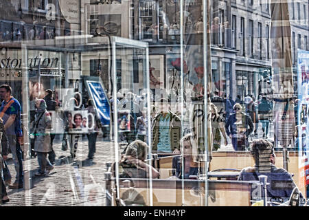 Reflections in A photographic Shop - Stock Photo