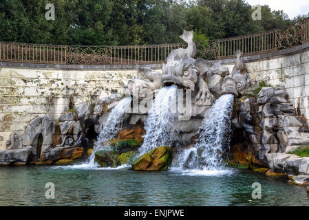Royal Palace of Caserta, Caserta, Campania, Italy - Stock Photo