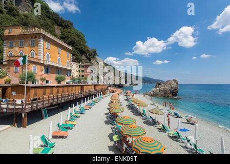 Monterosso al Mare, Cinque Terre, UNESCO World Heritage Site, Liguria, Italy, Europe - Stock Photo