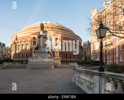 Exterior of the Royal Albert Hall, Kensington, London, England, United Kingdom, Europe - Stock Photo