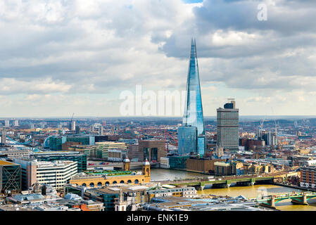 The Shard, London, England, United Kingdom, Europe - Stock Photo