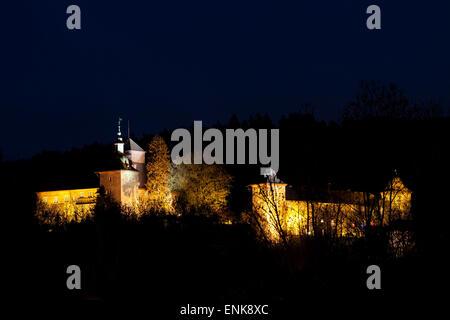 Schnellenberg Castle, Attendorn, Sauerland, North Rhine-Westfalia, Germany - Stock Photo