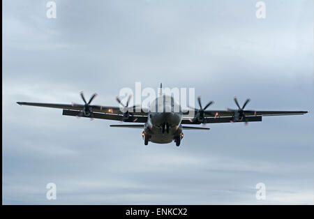 Royal Danish Air Force Lockheed Martin C-130J-30 Hercules B-583.  SCO 9732. - Stock Photo