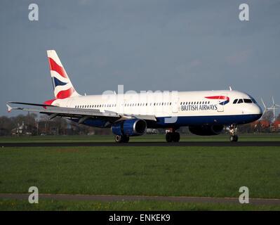 G-EUXF British Airways Airbus A321-231 - cn 2324 on the Polderbaan, Schiphol (AMS - EHAM), - Stock Photo