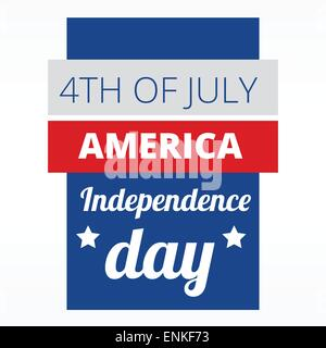 4th of july american indepence day design - Stock Photo