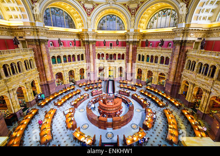 Washington, DC at the Library of Congress. - Stock Photo