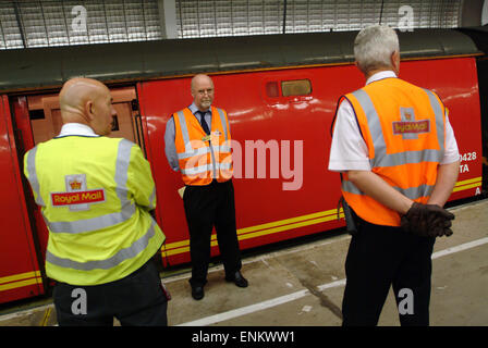 One of the last Royal Mail Travelling Post Offices(TPO's)where the mail was sorted on the train between London and - Stock Photo