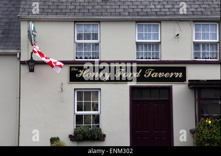 Henry Ford Tavern at Ballinascarthy near Clonakilty in County Cork - Stock Photo