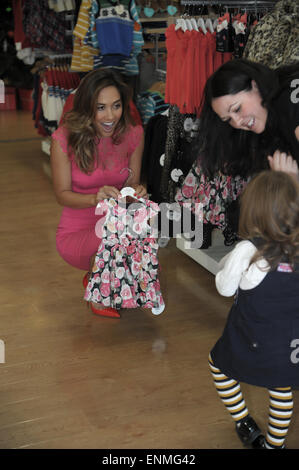Myleene Klass attends the re-opening of Mothercare's Solihull store following a renovation  Featuring: Myleene Klass - Stock Photo