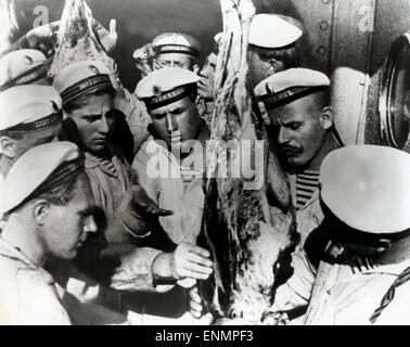 Bronenosez Potjomkin, Bronenosets Potyomkin, UdSSR 1925, aka: Panzerkreuzer Potemkin, Battleship Potemkin, Regie: - Stock Photo
