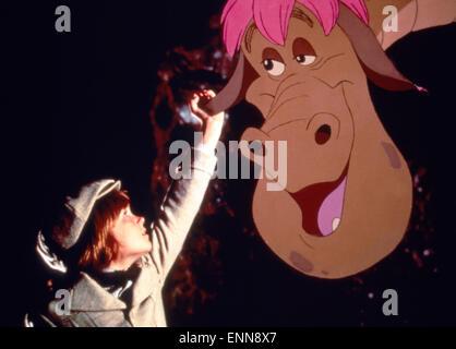 Pete's Dragon, USA 1977, aka: Elliot, das Schmunzelmonster, Regie: Don Chaffey, Darsteller: Sean Marshall - Stock Photo
