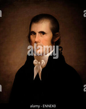 John Marshall, Chief Justice of US Supreme Court  circa 1810  Cephas Thompson - Stock Photo