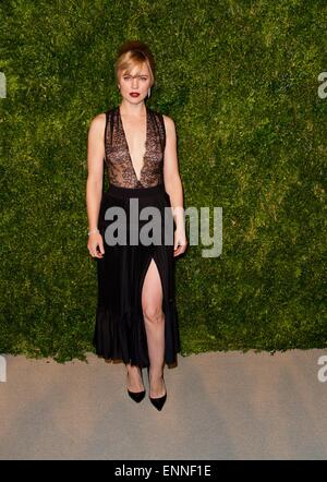 11th annual CFDA/Vogue Fashion Fund Awards at Spring Studios - Arrivals  Featuring: Melissa George Where: New York - Stock Photo