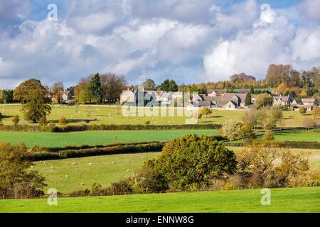 Yanworth, Gloucestershire, England, United Kingdom, Europe. - Stock Photo