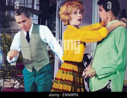 Any Wednesday, USA 1966, aka: Jeden Mittwoch, Regie: Robert Ellis Miller, Darsteller: Jason Robards, Jane Fonda, - Stock Photo