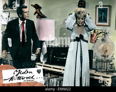 Any Wednesday, USA 1966, aka: Jeden Mittwoch, Regie: Robert Ellis Miller, Darsteller: Jane Fonda, Dean Jones - Stock Photo