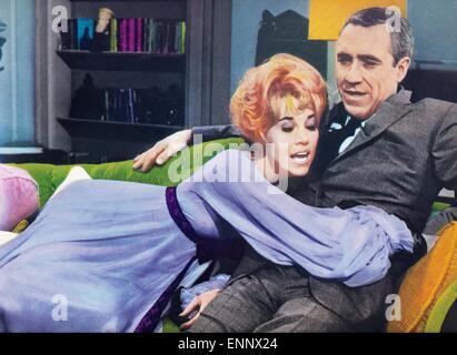 Any Wednesday, USA 1966, aka: Jeden Mittwoch, Regie: Robert Ellis Miller, Darsteller: Jason Robards, Jane Fonda - Stock Photo