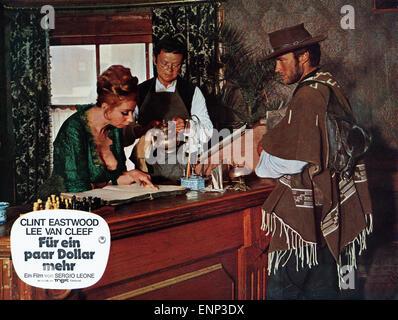 Per qualche dollaro in piu, Italien/Spanien/Deutschland 1965, aka: Für ein paar Dollar mehr, Regie: Sergio Leone, - Stock Photo