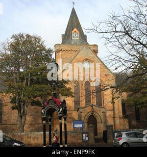 Dornoch cathedral Scotland  November 2013 - Stock Photo